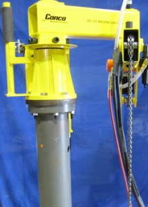 Articulated Jib Hoist pedestal mounted - Conco