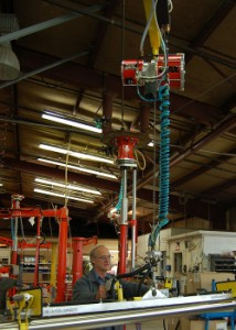 Articulated Jib with an optional air balancer - Conco