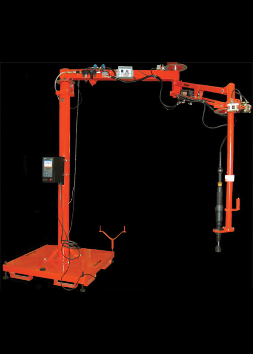 ReactionArm torque arm with power tool and controler