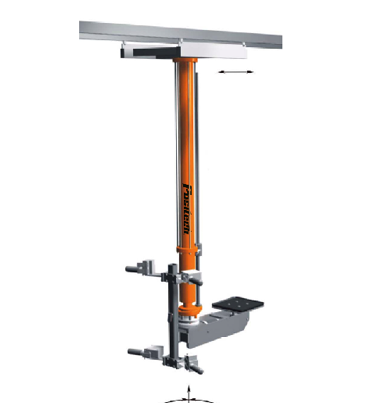 Simple Air Manipulator shown pedestal mounted with a vacuum tool