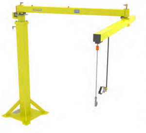 articulated jibs lifter with integrated lift