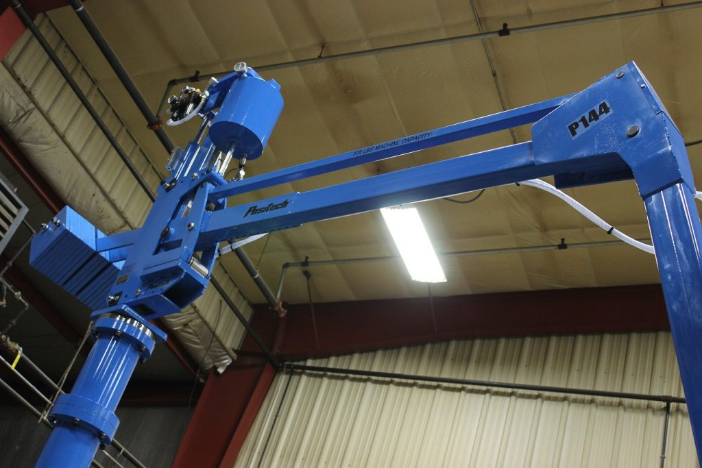 Industrial Lift assist with 144 inches of radial reach